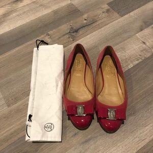 Salvatore Ferragamo Vara Bow Flats Shoes